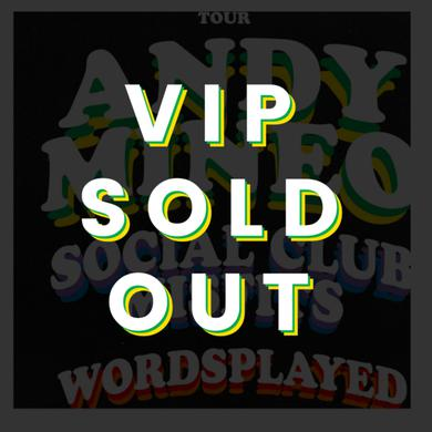 Andy Mineo OCT 8 - Houston, TX - Miner League Presents - Friends & Family Tour VIP