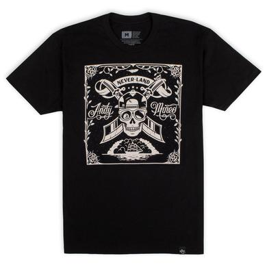 Andy Mineo 'Never Land Skull' T-Shirt