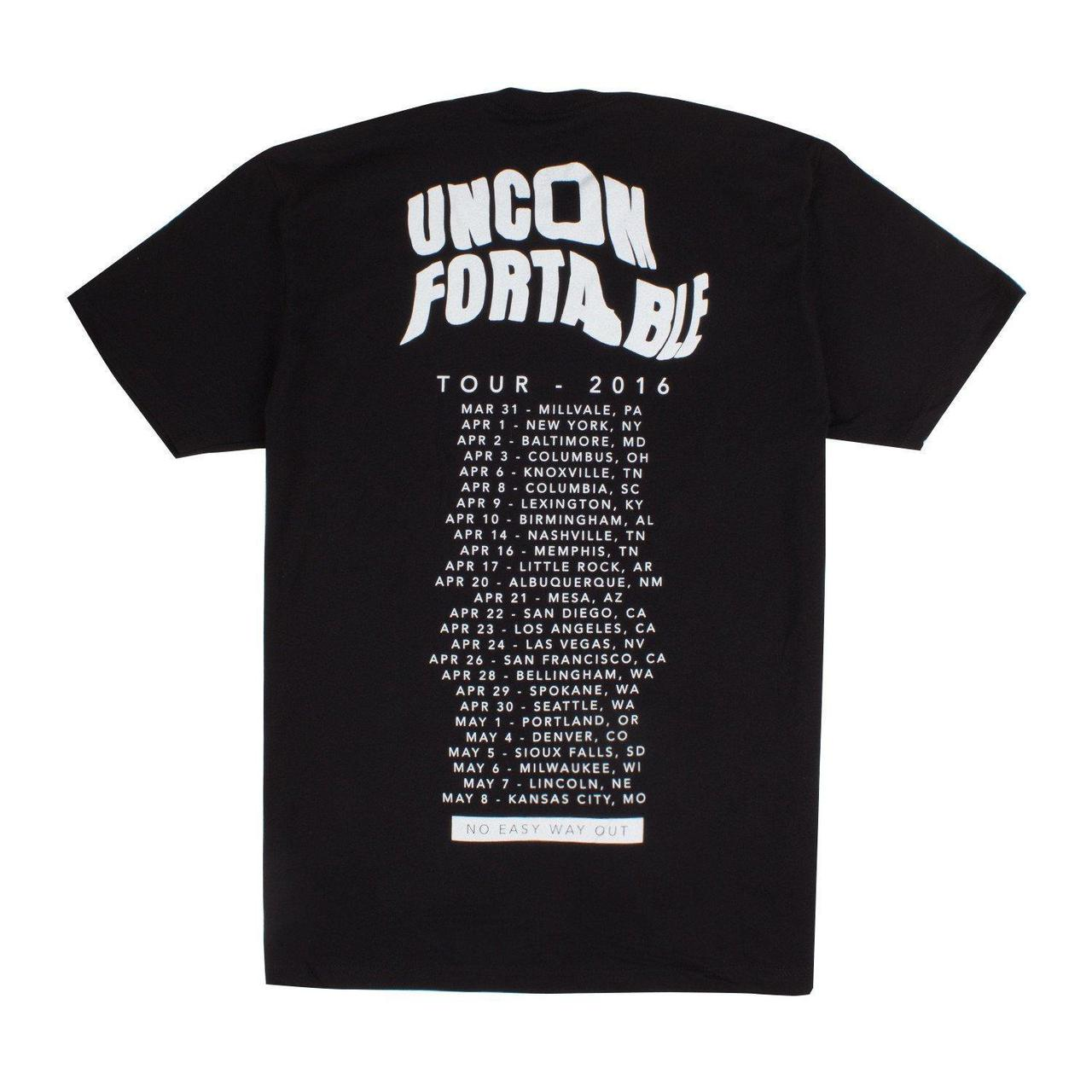 Andy Mineo Uncomfortable Tour Face T Shirt