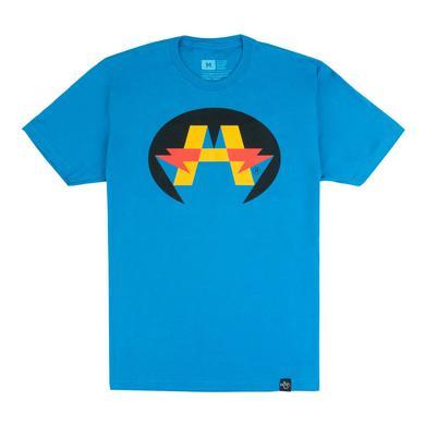 Andy Mineo 'Hero' Logo T-Shirt - Blue