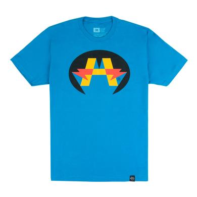 Andy Mineo 'Hero' Logo T-Shirt - Blue