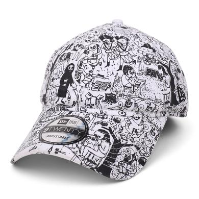 Father John Misty 'Pure Comedy' x New Era 9Twenty Dad Hat // White