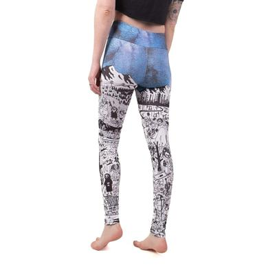 Father John Misty Pure Comedy 6 Panel Leggings