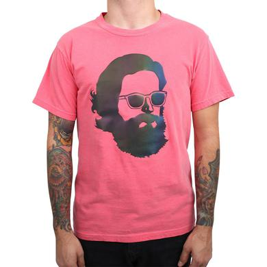 Father John Misty 'Misty Face' Tech Wear T-Shirt - Rainbow Reflective