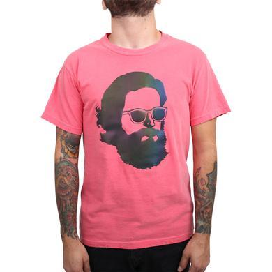 Father John Misty 'Misty Face' Tech Wear T-Shirt - Rainbow Reflective