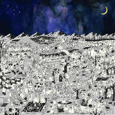 """Father John Misty 'Pure Comedy' 2 x 12"""" Vinyl LP - PREORDER (Ships 3/31)"""