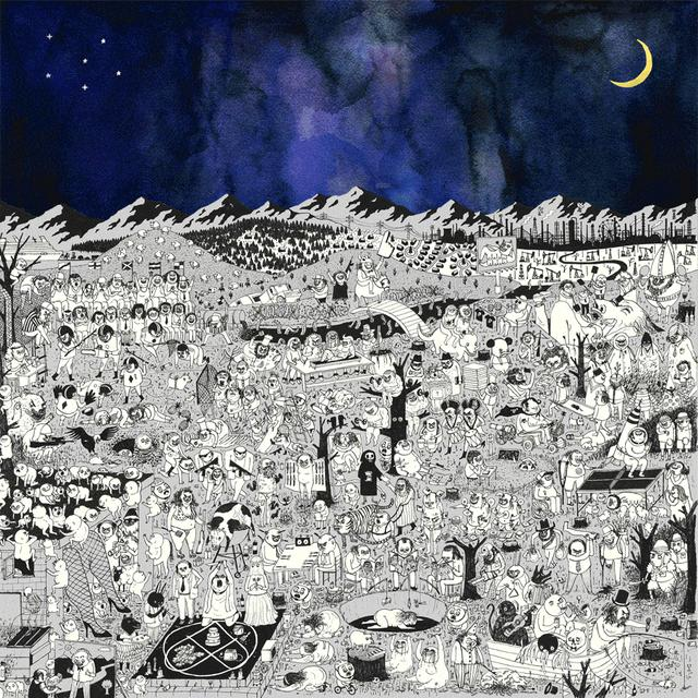 """Father John Misty 'Pure Comedy' Deluxe 2 x 12"""" Vinyl LP"""