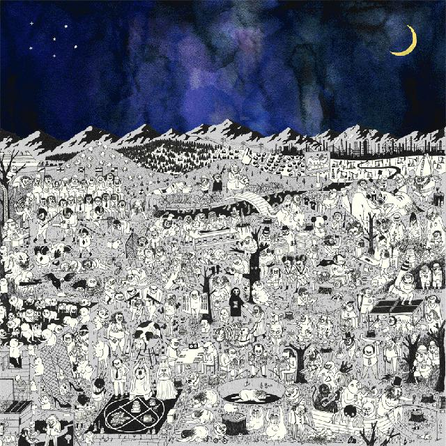 "Father John Misty 'Pure Comedy' Deluxe 2 x 12"" Vinyl LP"