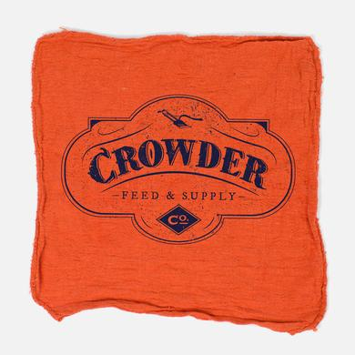 Crowder 'Feed & Supply' Shop Rag