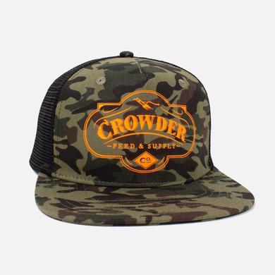 Crowder 'Feed & Supply' Trucker Hat - Camo