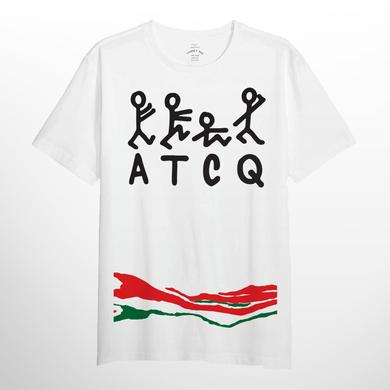 Exclusive A Tribe Called Quest Figure Stripe Tee - Limited Edition