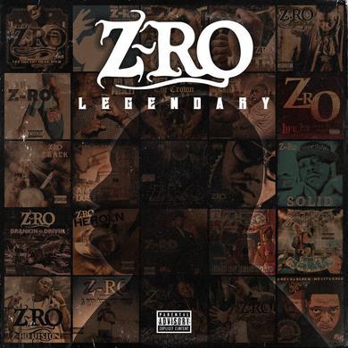Z-RO - LEGENDARY CD