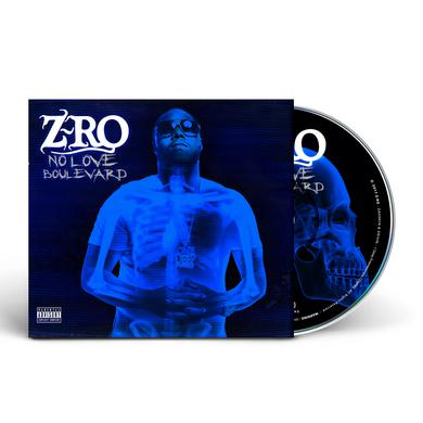 Z-RO - No Love Boulevard (CD) [AUTOGRAPHED]