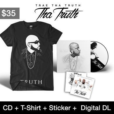"""Trae Tha Truth - """"Tha Truth"""" CD + T-Shirt Bundle"""