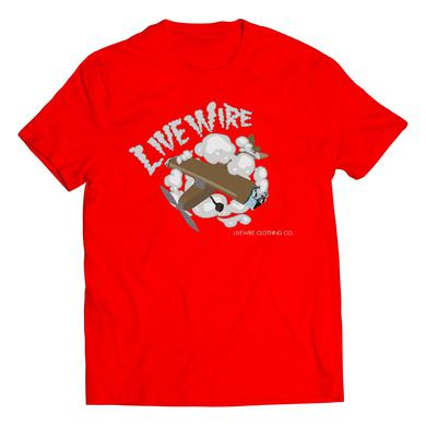 J. Stalin - Airplane T-Shirt (Red)