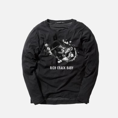 Young Dolph - Rich Crack Baby Crewneck - Black