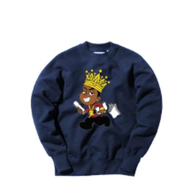 Young Dolph - Paper Route Crewneck - Blue