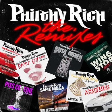 Philthy Rich - The Remixes CD