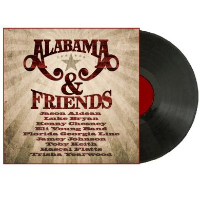 Alabama LP- Alabama and Friends (Vinyl)