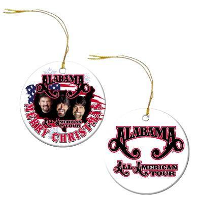 Alabama All American Tour Christmas Ornament