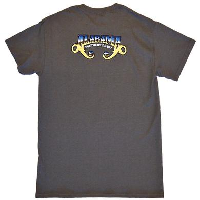Alabama Charcoal Tee- Southern Drawl Album Cover Photo