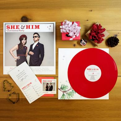 "She & Him 'Christmas Party' 12"" Vinyl LP"