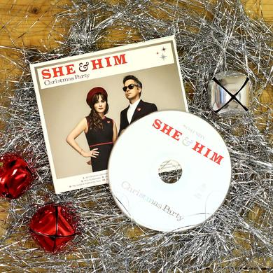 She & Him 'Christmas Party' CD