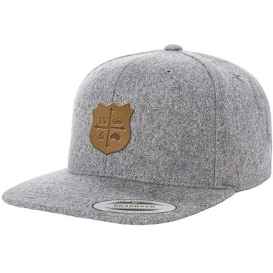 for KING & COUNTRY Leather Patch Hat
