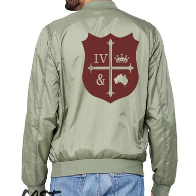 for KING & COUNTRY Crest Bomber Jacket