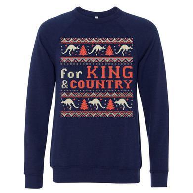 for KING & COUNTRY Kangaroo Christmas Sweater