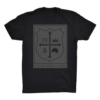 for KING & COUNTRY Square Crest T-Shirt