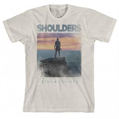 for KING & COUNTRY SHOULDERS SUNSET T-SHIRT
