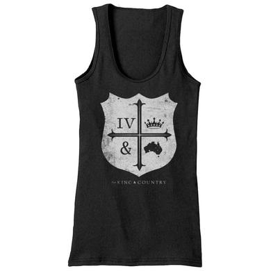 for KING & COUNTRY CREST TANK TOP