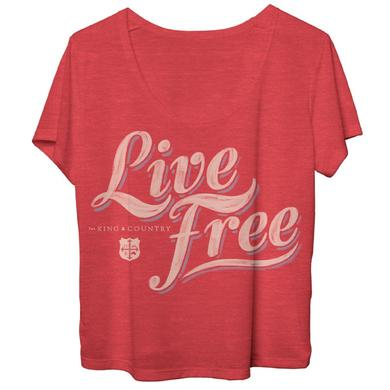 for KING & COUNTRY LIVE FREE DOLMAN