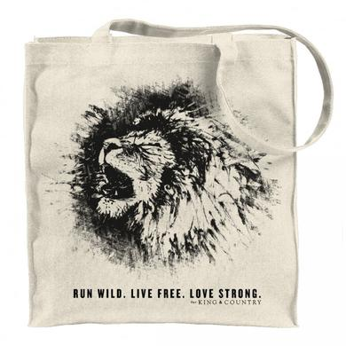 for KING & COUNTRY LION TOTE BAG