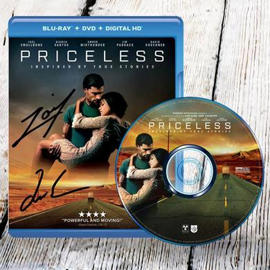 for KING & COUNTRY Autographed Priceless The Movie Blu-Ray (Online Exclusive)