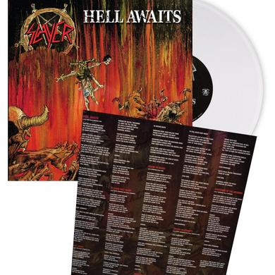 Slayer HELL AWAITS [Exclusive Clear Vinyl]
