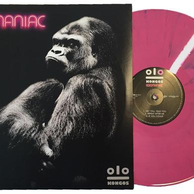 Kongos EGOMANIAC [Exclusive Pink & Black Swirl Vinyl]
