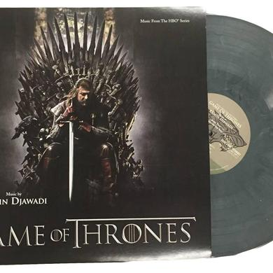"GAME OF THRONES / O.S.T. SEASON 1 SOUNDTRACK [Exclusive ""Valyrian Steel Silver"" Color Vinyl]"