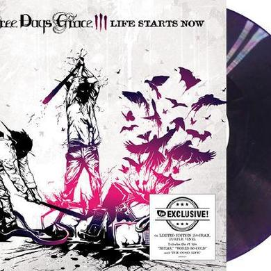 Three Days Grace Life Starts Now [Exclusive Purple Vinyl]