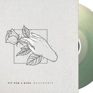 FIT FOR A KING Deathgrip [Exclusive Coke Bottle Clear Vinyl]