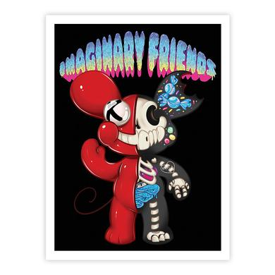 deadmau5 - Imaginary Friend Art Print