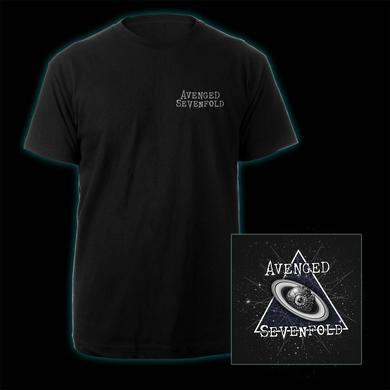 Avenged Sevenfold A7X Eyeball Galaxy Logo Tee