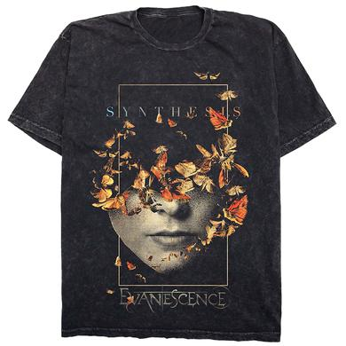 Evanescence Half Face Tee