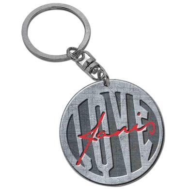 Janis Joplin Love Keychain