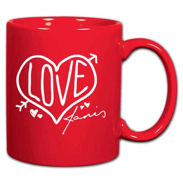 Janis Joplin Love Mug