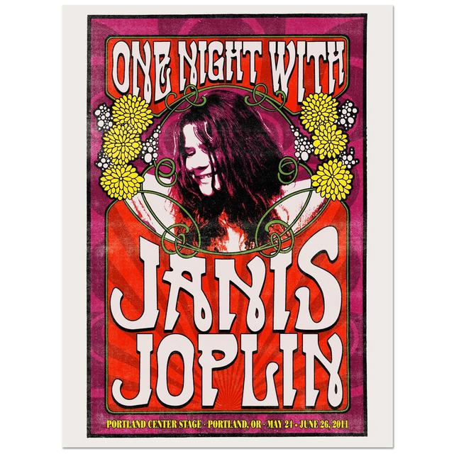 One Night With Janis Joplin Poster