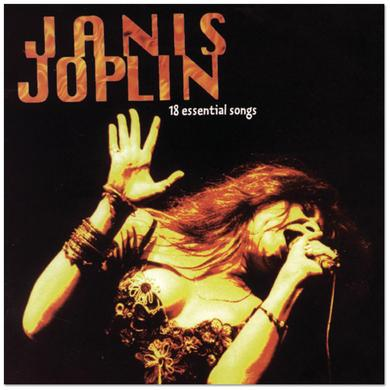 Janis Joplin - 18 Essential Songs CD