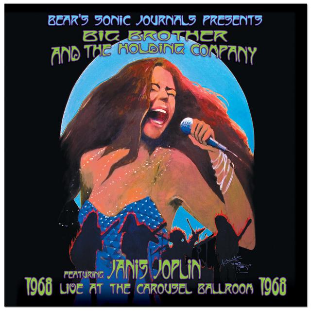 Janis Joplin Live at the Carousel Ballroom 1968 CD