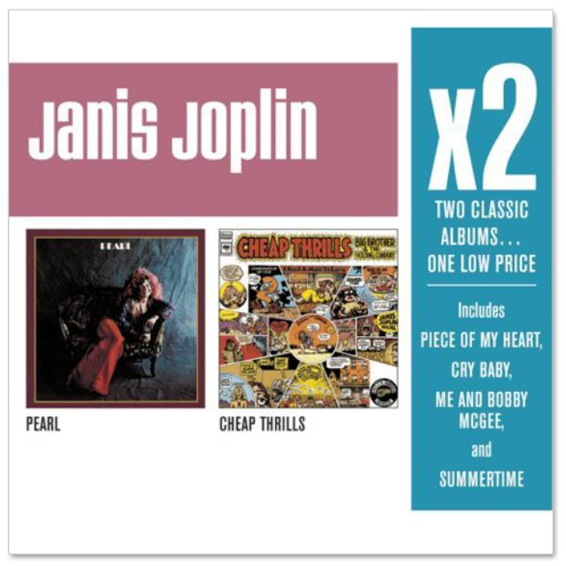 Janis Joplin - x2 (Pearl/Cheap Thrills) CD